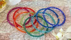 Crystal Bangle Stacking Bracelets | AllFreeJewelryMaking.com