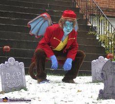 Flying Monkey - Halloween Costume Contest via Flying Monkey Halloween Costume, Monkey Costumes, Hallowen Costume, Boy Costumes, Adult Costumes, Costume Ideas, Theatre Costumes, Halloween Costumes Online, Halloween Costume Contest