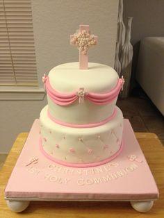 Communion cake   I made