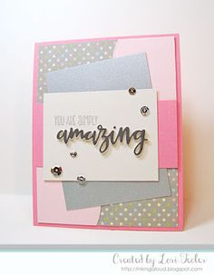 You Are Simply Amazing card-designed by Lori Tecler/Inking Aloud-stamps and dies from Verve Stamps