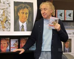 """R.I.P. Gene Wilder who brought both chocolate and meme factories to life     - CNET  Enlarge Image  Actor and author Gene Wilder autographs copies of his book The Woman Who Wouldnt"""" at a Barnes & Noble in West Hollywood in 2008.                                              Charley Gallay/Getty Images                                          Gene Wilder a comedy icon whose classic roles including Blazing Saddles Young Frankenstein and Willy Wonka and the Chocolate Factory entertained a…"""