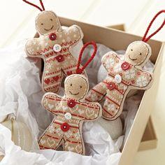 cross stitch gingerbread men