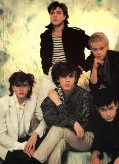 Duran Duran, my first memory of them poster style!