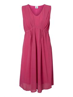 Formal maternity and nursing dress for wearing as a wedding guest this season for a pink baby shower or any special occasion or evening wear this