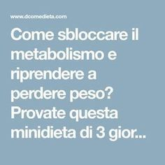 Come sbloccare il metabolismo e riprendere a perdere peso? Provate questa minidi… How can you unlock and lose your metabolism? Try this mini-farm from Dr. Pier Luigi Rossi on a cereal basis. Week Detox Diet, Detox Diet Recipes, Detox Diet For Weight Loss, Liver Detox Diet, Sugar Detox Diet, Detox Diet Plan, Cleanse Diet, Stomach Cleanse, Detox Foods