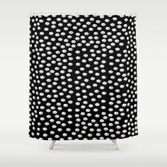 #White #Polka #Dots #Shower #Curtain $68.00