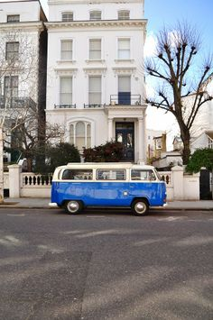 a blue bug in Notting Hill