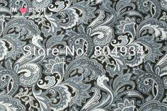 Freies Verschiffen ST86 Köper Baumwollgewebe Textil Paisley in dunkelgrau in köper baumwollgewebematerial: 100% baumwollestoffbreite: 1.5mMotive: paisley blumefür mehr Meter, bitte kontaktieren Sie aus Stoff auf AliExpress.com | Alibaba Group