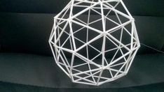 PALLOHIMMELIN OHJE: Straw Decorations, Diy And Crafts, Paper Crafts, Geodesic Dome, Suncatchers, Metallica, Christmas Crafts, Craft Projects, Mandala