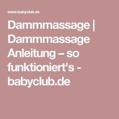 Dammmassage   Dammmassage Anleitung – so funktioniert's - babyclub.de