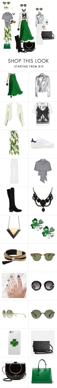 """""""Sem título #3"""" by danidz on Polyvore featuring moda, Dsquared2, McQ by Alexander McQueen, adidas Originals, Alexis Mabille, Michael Kors, Steve Madden, Gucci, Simons e Ray-Ban"""