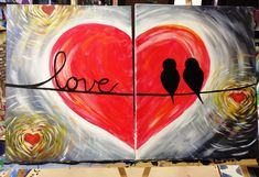 wine and canvas couples - Google Search