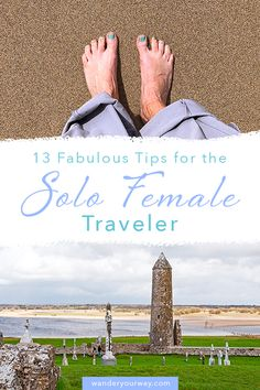 Solo travel is becoming more and more common, especially solo female travel. Here's a post filled with some great tips on how to travel as a solo female traveler as well as the benefits of solo travel and some ideas on destinations. #solotravel #europetravel #solofemaletravel Solo Travel Tips, Ways To Travel, Europe Travel Tips, Best Places To Travel, Travel Advice, Amazing Destinations, Travel Destinations, International Travel Checklist, Best Travel Guides
