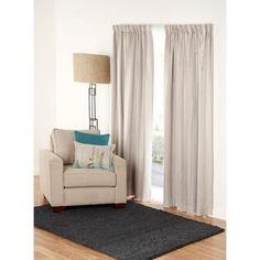 Gummerson Cashmere Pencil Pleat Curtains Linen