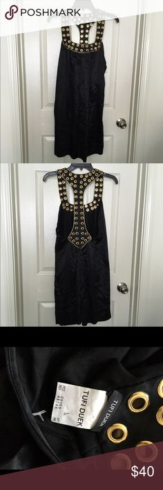 Tufi Duek Dress Good condition, some gold on trim peeling see pic 4 Dresses