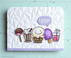 You're Cute card by Kristina Werner - Paper Smooches - Sugar Rush stamps and dies