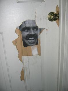 The roommate finally fixed the bathroom door