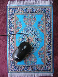 High Quality Persian Rug Mouse Pad.