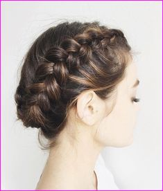 60 Creative Short Hair Updos, Have you ever struggled to learn some updos for short hair? With so many gorgeous updo ideas available online, the strong majority are for long hair. Braided Hairstyles Updo, Fringe Hairstyles, Trending Hairstyles, Braided Updo, Straight Hairstyles, Hair Updo, Hairstyle Ideas, Short Hair Dos, Short Straight Hair