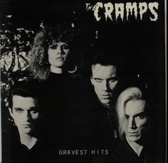 "For Sale - The Cramps Gravest Hits UK  12"" vinyl single (12 inch record / Maxi-single) - See this and 250,000 other rare & vintage vinyl records, singles, LPs & CDs at http://eil.com"