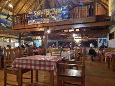 Interesting places to stay in South Africa - Sodwana Bay Lodge - The lodge restaurant - Leatherbacks Seafood and Grill, boasts a varied menu, attentive service and a relaxed and friendly atmosphere. Bay Lodge, Adventure Holiday, Whale Watching, South Africa, Safari, Seafood, Tourism, Coast, Elephant