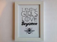 Beehive Print.