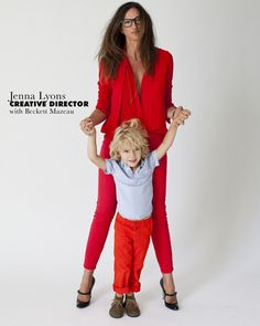 Papermag has a spread on fashion moms and their babes. it's pretty cool to see all the working moms out there.