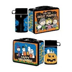 Peanuts Halloween Lunch Boxes - lunch-boxes Photo