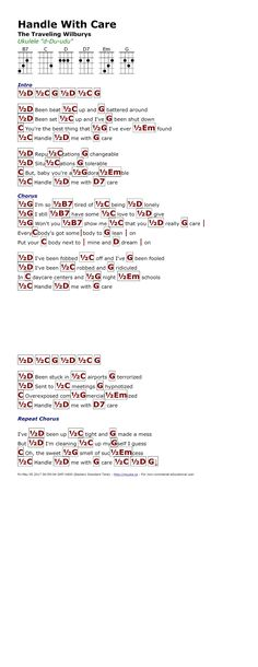Mary Jane\'s Last Dance (Tom Petty) - http://myuke.ca | Ukulele music ...