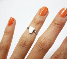 Knuckle Ring Nevada Silver State on Etsy, $45.00