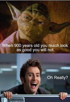 Community Post: Yoda Vs. Doctor Who.