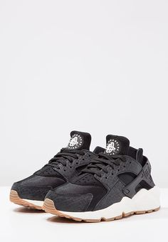 huge discount 1cbd3 ab01a Nike Sportswear AIR HUARACHE RUN PRM - Sneakers - blacksailmedium brown -