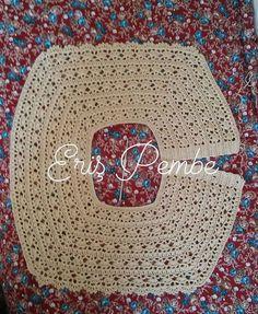pink # blue # braids # (@ erispembe) # & not use # Weaves belongs to me. too – kinder mode Crochet Baby Bibs, Crochet Baby Cardigan, Crochet Toddler, Crochet Mittens, Crochet Girls, Crochet Baby Clothes, Crochet For Kids, Crochet Lace Collar, Crochet Yoke