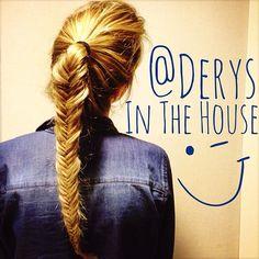 @Jenny Yancey Luz Cochero bir an için odama geldi de…/ Derya was in my room for 2 seconds. #hair #hairdo #blonde #hairstyles #braid #örgü #saç #saçör...