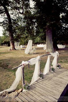sophie et tom, vrai mariage, Davidone, La mariee aux pieds nus