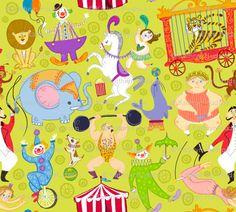 vintage circus illustrations 2
