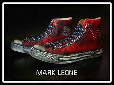 New!!!Custom Converse All-Star By Mark Leone ® Βρες το αγαπημένο σου σχέδιο τώρα! Για παραγγελίες ,η για οποιαδήποτε άλλη πληροφορία στείλτε μήνυμα στη σελίδα μας. Διαθέσιμο σε όλα τα χρώματα,και σε όλα τα νούμερα! Available in any size & any colour! For more details ,orders or further information about our creations please send us an inbox message Converse Chuck Taylor High, Converse All Star, Converse High, High Top Sneakers, Custom Converse, Chuck Taylors High Top, High Tops, Stars, Fashion