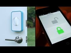A keyless device that allows users to unlock their doors with only a smartphone. Equipped with Bluetooth 4.0, Wi-FI, and NFC capabilities, the Lockitron is a battery-powered box that attaches to a door's deadbolt. Users can unlock their doors by either swiping their NFC-enabled phones against the Lockitron, or, if their handsets include Bluetooth 4.0, by simply walking up to the door.