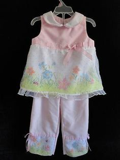 Size 4T Girls ~ *Youngland - Pink Fancy 1 Pc Outfit w/Organza