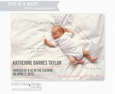 Hey, I found this really awesome Etsy listing at http://www.etsy.com/listing/109915494/baby-announcements-this-is-a-baby-style