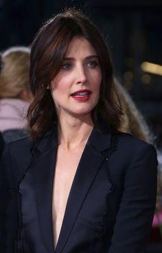 Cobie Smulders Jack Reacher: Never Go Back Berlin Premiere CineStar Sony Center  October 21, 2016