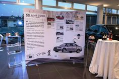 Audi A4 premiers in showrooms with its thorough pictorial history on an ISOframe Ripple linking banner stand system (this project was produced by Mark Bric's Italian partner Zeta Solutions). ISOframe Ripple is perfect for presenting graphic information in large format. Educate and entice your audience with ISOframe Ripple. Check out what you can do with ISOframe www.isoframeexhibits.com #pop #audi #banners #isoframe #welovecars #markbric