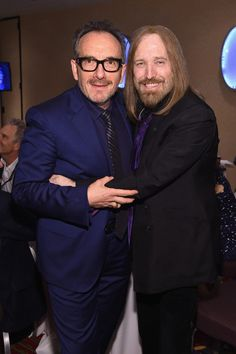 Elvis Costello and Tom Petty. All photos by Larry Busacca. Songwriters Hall of Fame Awards 2016, American Songwriter