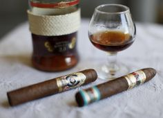 when pairing a cigar to a drink stick with scotch, bourbon and cognac