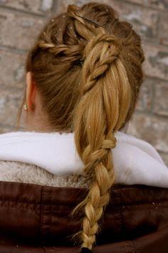 I really wanna perfect this waterfall braid