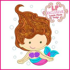 See It All - Underwater Mermaid with Bubbles Applique 4x4 5x7 6x10 7x11 SVG - Welcome to Lynnie Pinnie.com! Instant download and free applique machine embroidery designs in PES, HUS, JEF, DST, EXP, VIP, XXX AND ART formats.