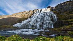 Dynjandi (Fjallfoss) - largest waterfall in the Westfjords region of Iceland