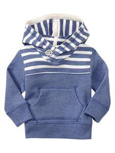 Baby Gap | Striped terry hoodie