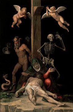 Jacopo Ligozzi, Allegory of the Redemption, ca. 1585-87