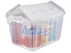 Clear Totes in Stock - ULINE